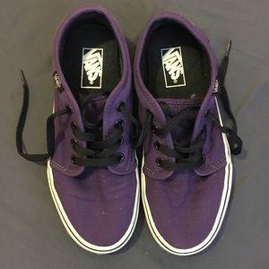 Women's size 7 purple vans